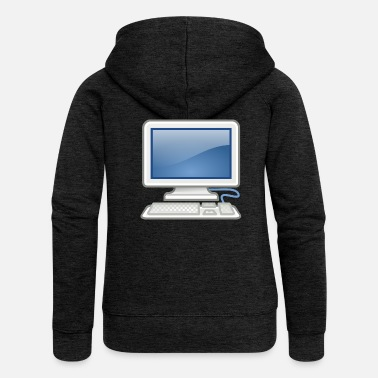 Pc great for PC nerds or PC in love - Women's Premium Hooded Jacket