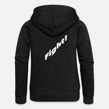 Fight Fight fighting fight fighting fight T-shirt - Women's Premium Zip Hoodie