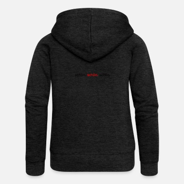 Beautiful beautiful. beautiful. beautiful. - Women's Premium Zip Hoodie