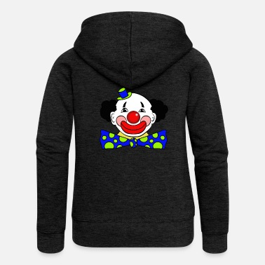 Clowns Clown - Frauen Premium Kapuzenjacke