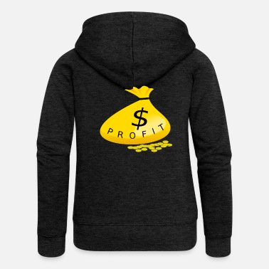 Profit Money Profit - Women's Premium Zip Hoodie