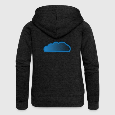 Cloud / cloud - Women's Premium Hooded Jacket