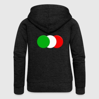 Italian flag - Women's Premium Hooded Jacket