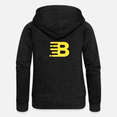 Trendy Trendy logo - Women's Premium Hooded Jacket