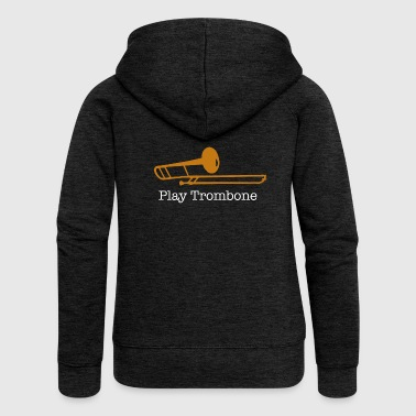 trombone - Women's Premium Hooded Jacket