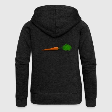 Carrot carrot - Women's Premium Hooded Jacket