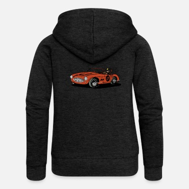 Racing Car car racing - Women's Premium Hooded Jacket