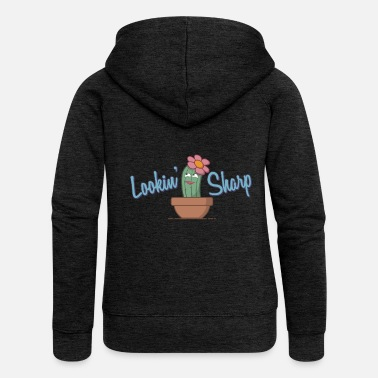 Sharp Lookin' Sharp Gift - Women's Premium Zip Hoodie