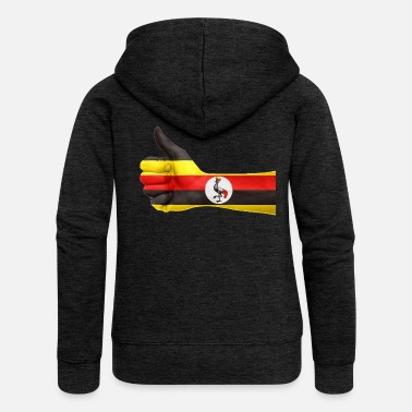 Uganda uganda collection - Women's Premium Hooded Jacket