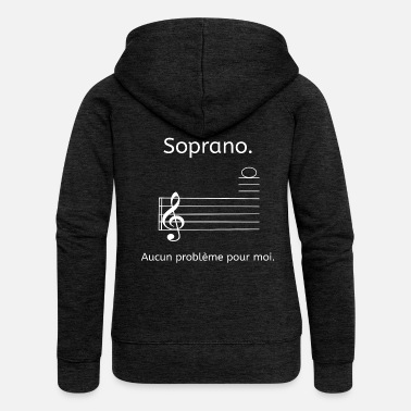 Soprano Soprano - Women's Premium Hooded Jacket