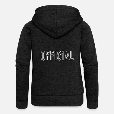 Official-person Official - Women's Premium Zip Hoodie