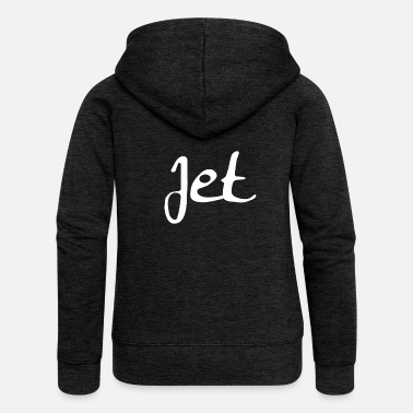 Jet jet - Women's Premium Hooded Jacket