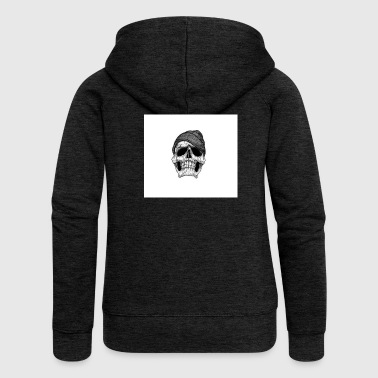 Skull wallpaper 10402987 - Women's Premium Hooded Jacket