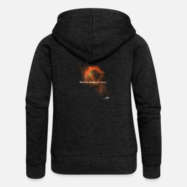 Trance Feel the Energy of Trance - Women's Premium Zip Hoodie