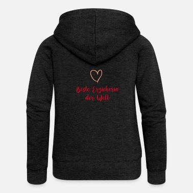 Educator Teacher Teacher Educator T-shirt - Women's Premium Hooded Jacket