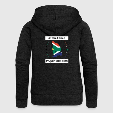 take a knee football South Africa png - Women's Premium Hooded Jacket