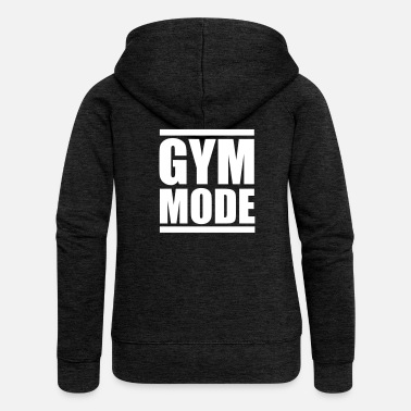 Motivation Gym mode - Fitness motivation - Bodybuilding - Women's Premium Hooded Jacket
