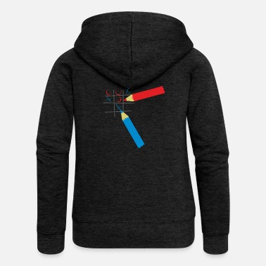 Tic Tac Toe Tic Tac Toe - Women's Premium Hooded Jacket