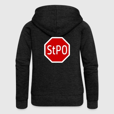 StPO | Criminal Law Law - Women's Premium Hooded Jacket