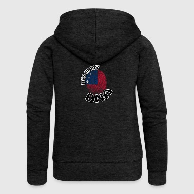 Gift Its in my dna dns roots Samoa - Women's Premium Hooded Jacket
