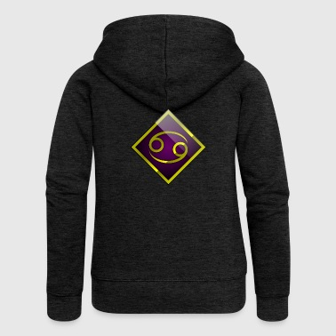 Cancer - Horoscope - Women's Premium Hooded Jacket