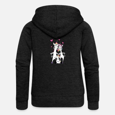 Renner Family unicorn - Women's Premium Hooded Jacket
