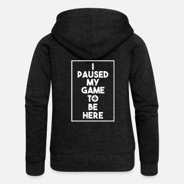 Lanparty Gamer nerd gaming gambling gambler lanparty gift - Women's Premium Zip Hoodie
