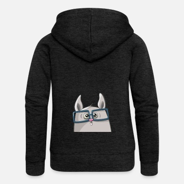 Nerd bunny Heinz - Women's Premium Hooded Jacket