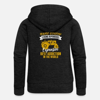 Tractor Tractor shirt · agriculture · hottest addiction - Women's Premium Hooded Jacket