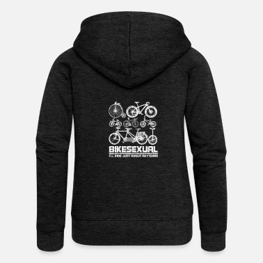 Stadt Bikesexual - i'll ride just about anything Fahrrad - Frauen Premium Kapuzenjacke