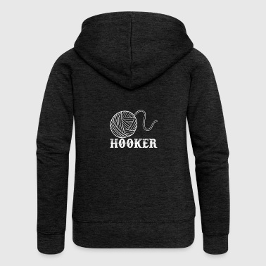 Hooker - Women's Premium Hooded Jacket