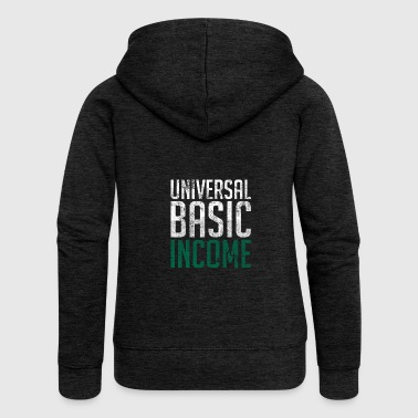 Universal Basic Income - Premium hettejakke for kvinner