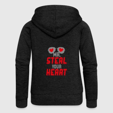 Mr Steal Your Heart - Women's Premium Hooded Jacket