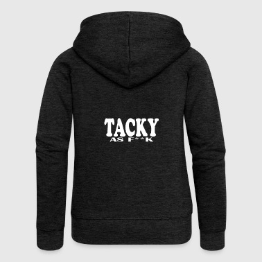 TACKY as fukk - Kitschig - Anti Romantiker - - Frauen Premium Kapuzenjacke