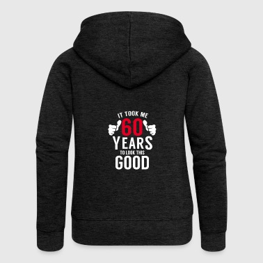 60 years 60th birthday - Women's Premium Hooded Jacket