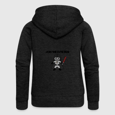 Robot vintage tshirt - Women's Premium Hooded Jacket