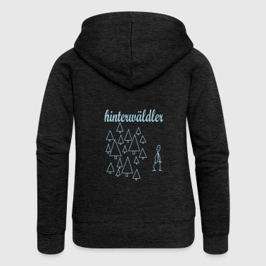 hillbilly - Women's Premium Hooded Jacket
