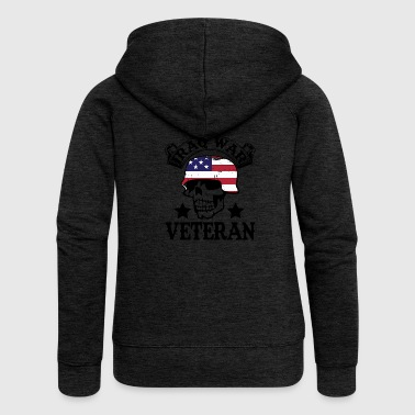 Soldier Tattooed Tattoos American Patriot War - Women's Premium Hooded Jacket
