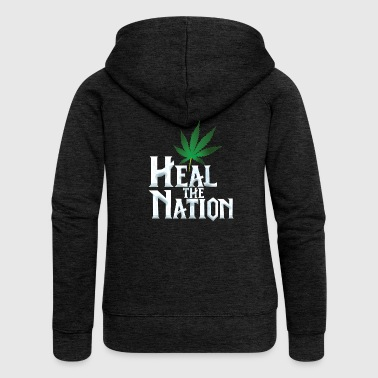 Heal the Nation - Women's Premium Hooded Jacket