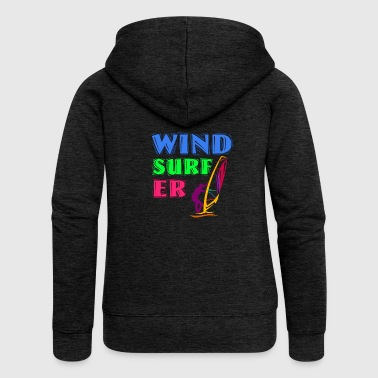 Windsurfing Windsurfer - Women's Premium Hooded Jacket