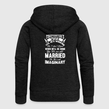 Married firefighter firefighter firefighter wife - Women's Premium Hooded Jacket