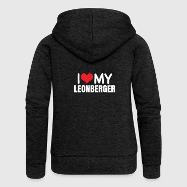 Leonberger - Women's Premium Hooded Jacket