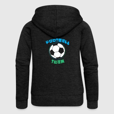 Football Team - Women's Premium Hooded Jacket