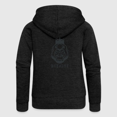 Gorilla - Royalty - Women's Premium Hooded Jacket