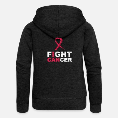 Fight Cancer Cancer fight - Women's Premium Hooded Jacket