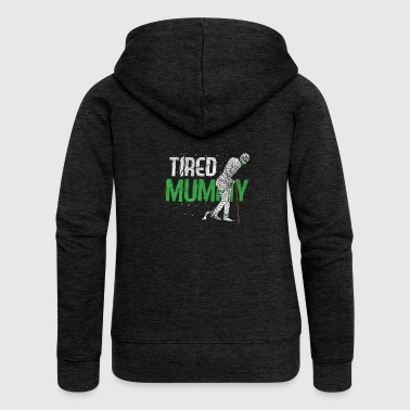 Mummy - Tired Mummy - Frauen Premium Kapuzenjacke