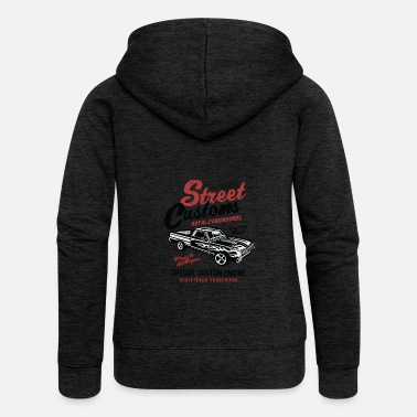 Cars Street Customs - Women's Premium Zip Hoodie