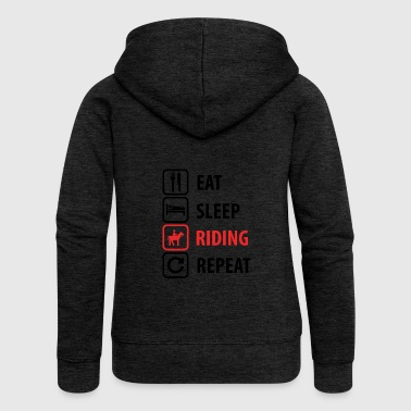 Riding. Hobby - Women's Premium Hooded Jacket
