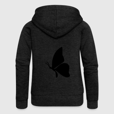 Butterfly Butterfly illustration butterfly animal insect - Women's Premium Hooded Jacket