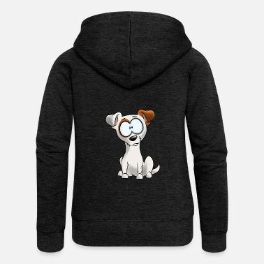Jack Soy Jack Russell Terrier - Chaqueta con capucha premium mujer